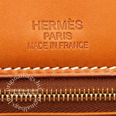 Hermes Birkin 35 Flag Barenia/ Toile H