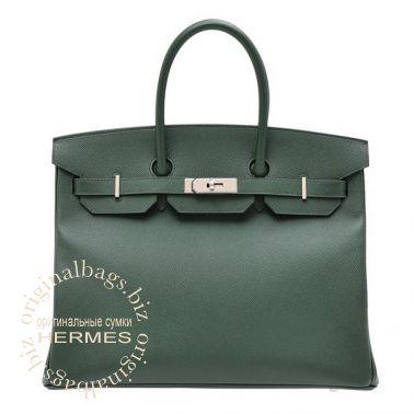 Hermes Birkin 35 Vert Anglais