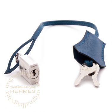 Hermes Birkin 35 Bleu Thalassa